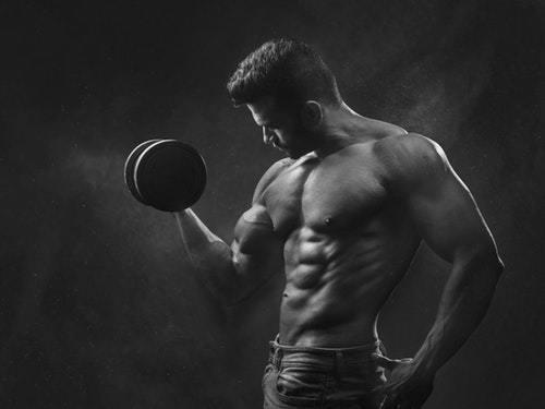 Muskelboost Mann Testosteron